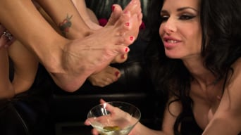 Francesca Le in '3 Legendary MILF Superstars and the Pizza Boy!'