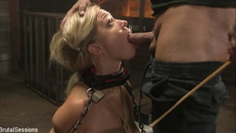 Gabi Gold in 'Blonde Girl Next Store Gabi Gold Rough Anal Fuck in Brutal Bondage'
