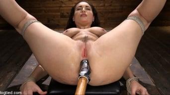 Gabriella Paltrova in 'Curvy Slut Gabriella Paltrova in Grueling Rope Bondage and Tormented'