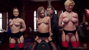 Gabriella Paltrova in 'Disorderly House Slaves Disciplined with Chains and Anal'