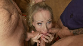 Simone Sonay in 'It takes five thick fire hoses to drench Simone Sonay's hot MILF cunt'
