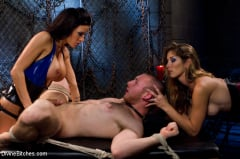 Gia DiMarco - 18 year old slaveboy chewed up and spit out by two HOT femdom nymph Bitches! (Thumb 05)