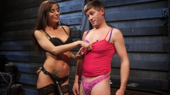Gia DiMarco in 'Feminized Cuckold Reality'