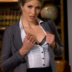 Gia DiMarco in 'Kink' Rebelious student dominates and fist fucks Academic Dean of her college! (Thumbnail 17)