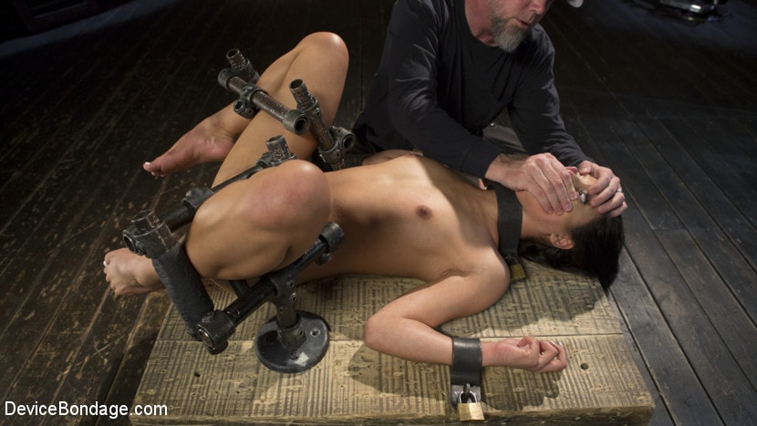 Kink '19 Year Old Brazilian in Devastating Bondage' starring Gina Valentina (Photo 3)