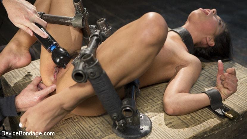 Kink '19 Year Old Brazilian in Devastating Bondage' starring Gina Valentina (Photo 8)