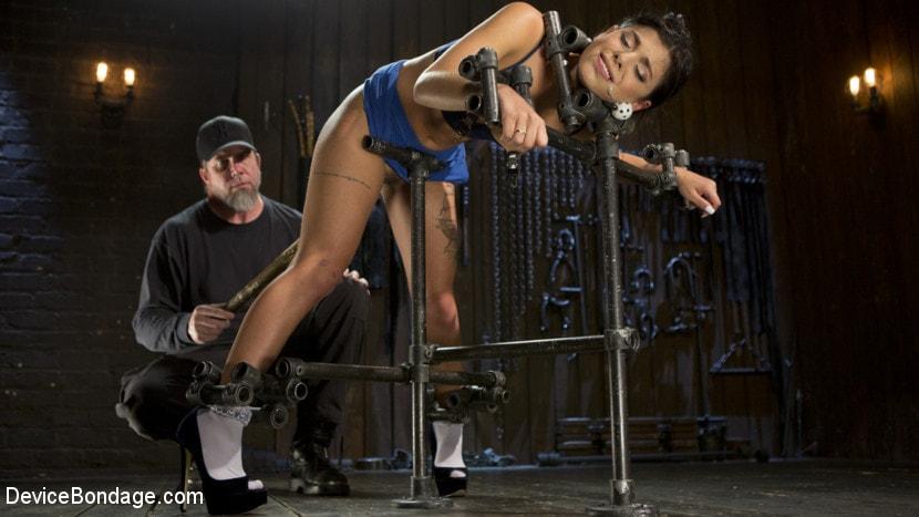 Kink '19 Year Old Brazilian in Devastating Bondage' starring Gina Valentina (Photo 10)