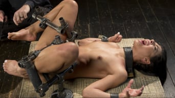 Gina Valentina in '19 Year Old Brazilian in Devastating Bondage'