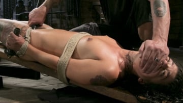 Gina Valentina - Tiny Sexual Plaything Gina Valentina Tied and Fucked in Rope Bondage!