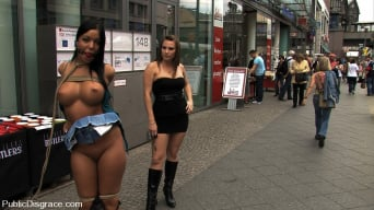 Harmony in 'Angelica Heart Returns for more Public Bondage and Humiliation'