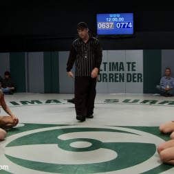 Hollie Stevens in 'Kink' Can the Undefeated Dragons come back and win the trophy. Will Dragon be forced to cum on the mat (Thumbnail 2)