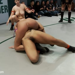 Hollie Stevens in 'Kink' Can the Undefeated Dragons come back and win the trophy. Will Dragon be forced to cum on the mat (Thumbnail 13)