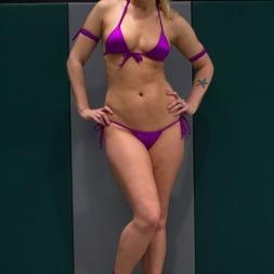 Hollie Stevens in 'Kink' RD2: Girls helpless in wrestling holds, getting double teamed. Finger fucked and beaten on the mat. (Thumbnail 9)