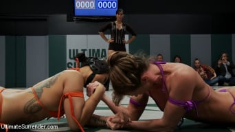Hollie Stevens in 'RD 1 of the 2010 TAG TEAM CHAMPIONSHIP Match up! The only non-scripted wrestling site on the net!'