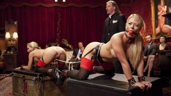 Holly Heart in 'Kinky MILF Sex Slaves Service Hot Stud Dick'