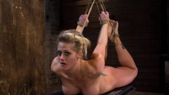Holly Heart in 'Local fitness model suffers the most horrific, painful bondage suspension there is. CATEGORY 5'