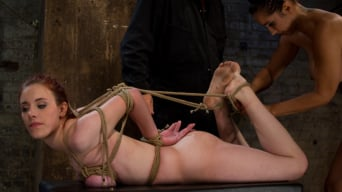 Iona Grace in 'Hot 19 yr old suffers a category 5 Hogtied suspension. Isis Love makes her cum over and over'