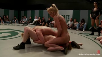 Isis Love - 3pts separate these 4 girls in the final wrestling RD Who is going to open the can of whip ass