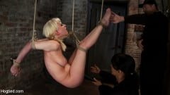Isis Love - April's Live Show 1 of 4 Cherry suffers a Category 5 suspension! All tying done live and on scree (Thumb 05)