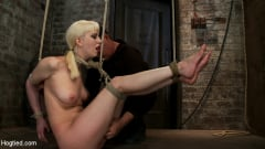 Isis Love - April's Live Show 1 of 4 Cherry suffers a Category 5 suspension! All tying done live and on scree (Thumb 15)