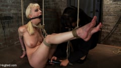 Isis Love - April's Live Show 1 of 4 Cherry suffers a Category 5 suspension! All tying done live and on scree (Thumb 17)