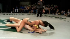 Isis Love - BATTLE OF THE FEATHERWEIGHTS!: Final round, non-scripted brutality! Best REAL wrestling on the net. (Thumb 02)