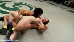 Isis Love - BATTLE OF THE FEATHERWEIGHTS!: Final round, non-scripted brutality! Best REAL wrestling on the net. (Thumb 15)
