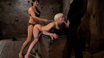 Isis Love in 'Cherry gets both ends brutally fucked Cherry is made to cum over and over, helpless in her bondage!'