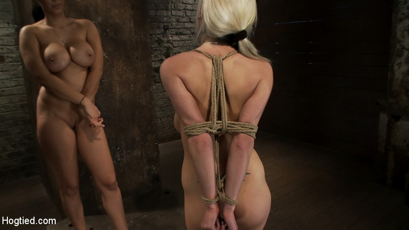 Kink 'ROPE TUTORIAL Part two, we show the wrist tie anchored to a crotch rope. Plus a full arm tie!' starring Isis Love (Photo 7)