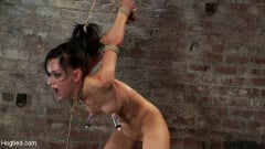 Isis Love - Severely ass flogged, then ass fucked, while gagging on a cock, made to cum HARD! Nipples tortured! (Thumb 04)