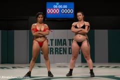Bella Rossi - Spanish wrestlers 1st US match. Takes on our 2nd ranked wrestler Winner decided by only 15pts! (Thumb 02)