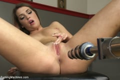 Jenna Ashley - Athletic Babe Fucks Herself in the Coach's office (Thumb 04)