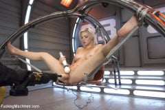 Jenna Ivory - Blond newcomer anti's up with her Pussy vs. The Machines (Thumb 08)