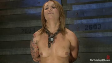 Jessie Cox - Jessie Cox Day 1 Sexual Slave Training