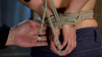 Jessie Cox in 'Pig tails and Thigh Highs and Cotton Panties and Ball gag and Brutal Crotch Rope equals Awesome'