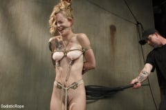 Jeze Belle - Petite Blonde Gets Destroyed in Extreme Bondage (Thumb 08)