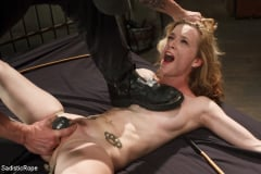 Jeze Belle - Petite Blonde Gets Destroyed in Extreme Bondage (Thumb 15)