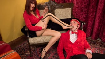 Maitresse Madeline in 'Room 417: The Foot Fetishist'