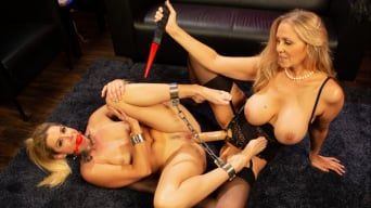 Julia Ann in 'Hot Under Her Spell: Julia Ann dominates hypnotherapist India Summer'