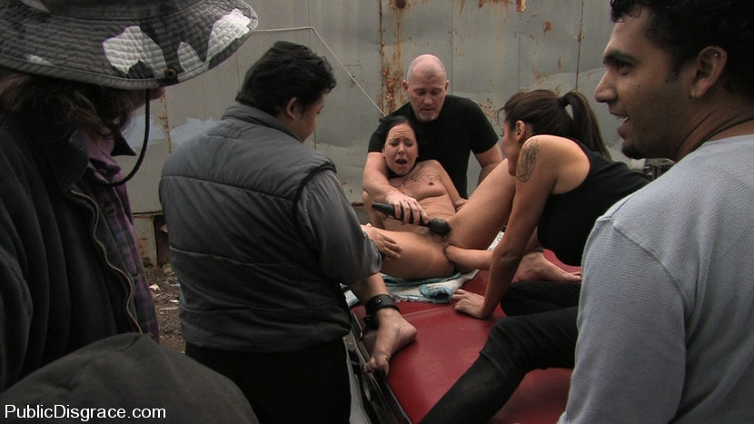 Kink '- Fisted and Fucked in the Junkyard' starring Julie Night (Photo 3)