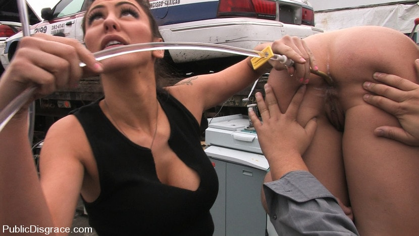 Kink '- Fisted and Fucked in the Junkyard' starring Julie Night (Photo 5)