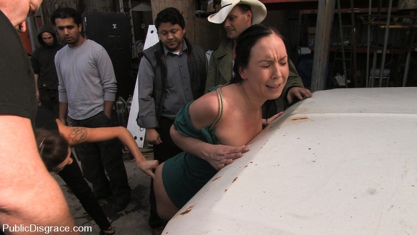 Kink '- Fisted and Fucked in the Junkyard' starring Julie Night (Photo 11)