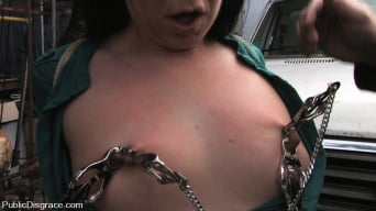 Julie Night in '- Fisted and Fucked in the Junkyard'