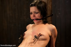 Juliette March - Pretty gets punished - double penetration and made to squirt into exhaustion (Thumb 12)