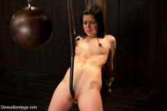 Juliette March - Pretty gets punished - double penetration and made to squirt into exhaustion (Thumb 15)