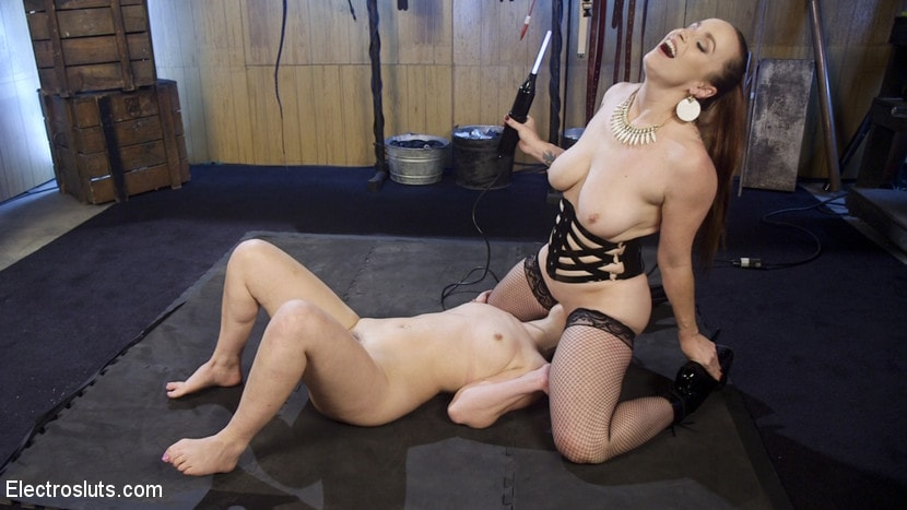 Kink 'Scared Tough Electroslut Comes Hard on Electricity!' starring Juliette March (Photo 4)