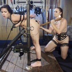 Juliette March in 'Kink' Scared Tough Electroslut Comes Hard on Electricity! (Thumbnail 16)