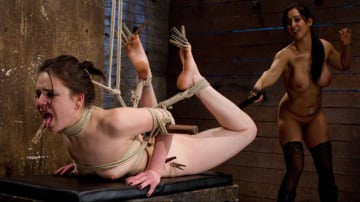 Juliette March - Sweet Juliette Hogtied and Violated by Isis Love