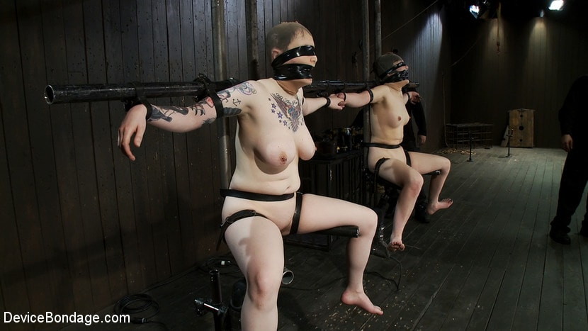 Kink 'Vulnerable pain slut pussy get pulverized by the meanest machines around.' starring Juliette March (Photo 3)