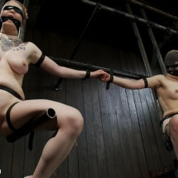 Juliette March in 'Kink' Vulnerable pain slut pussy get pulverized by the meanest machines around. (Thumbnail 5)